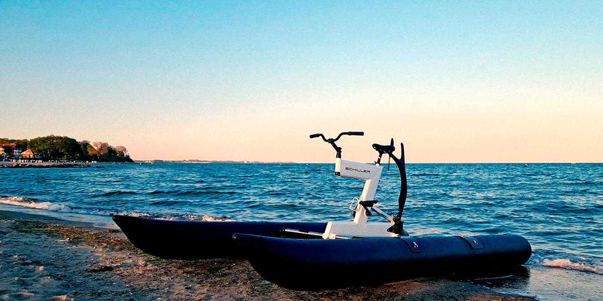 Schiller Bike an der Ostsee